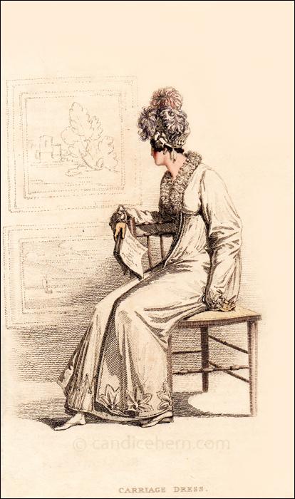 Carriage Dress, June 1815