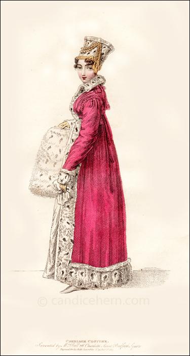 Carriage Dress, January 1817