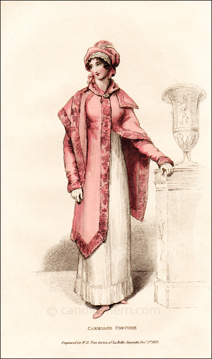 Carriage Dress, December 1813