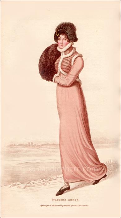 Walking Dress, March 1813