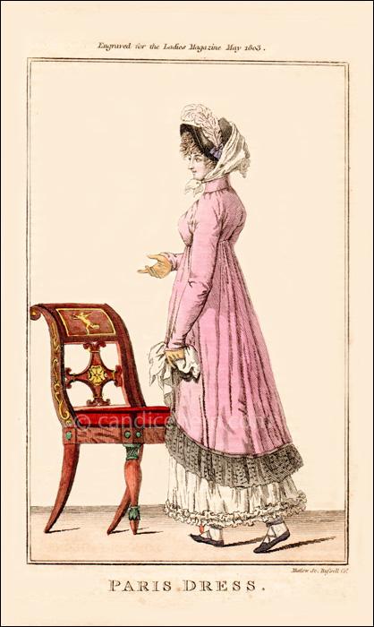 Morning Dress, May 1803