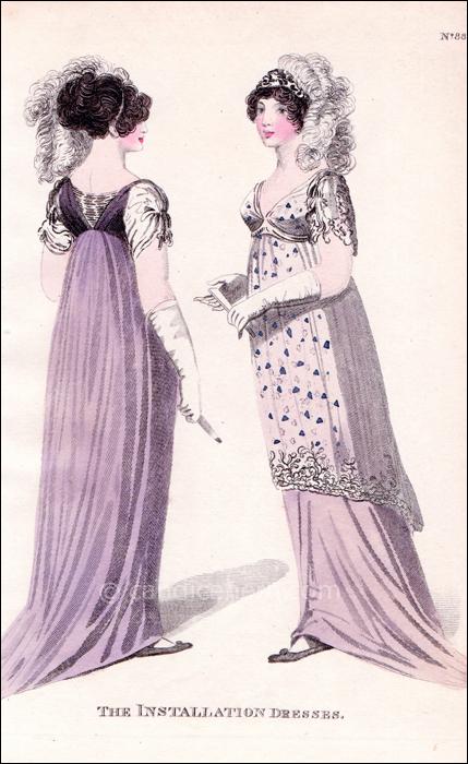 Installation Full Dresses, May 1805