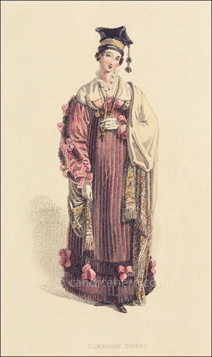 Carriage Dress, March 1816