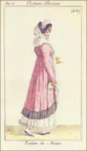 Morning Walking Dress, March 1803