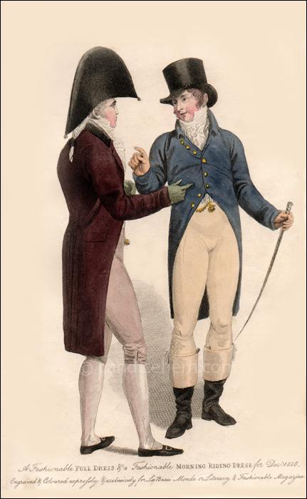 Gentleman's Dress, December 1806