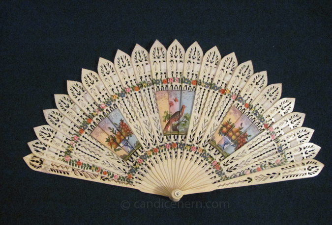 Fan with Painted Vignettes - 2