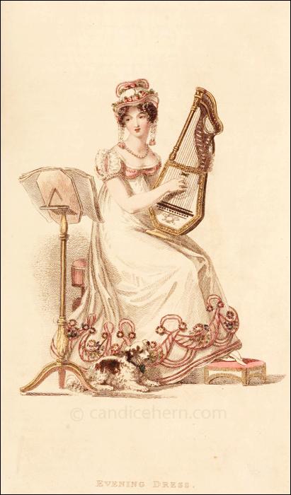 Evening Dress, April 1819