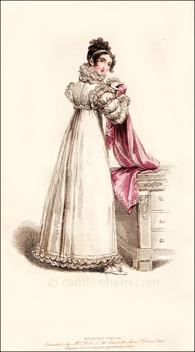 Morning Dress, Novembr 1815