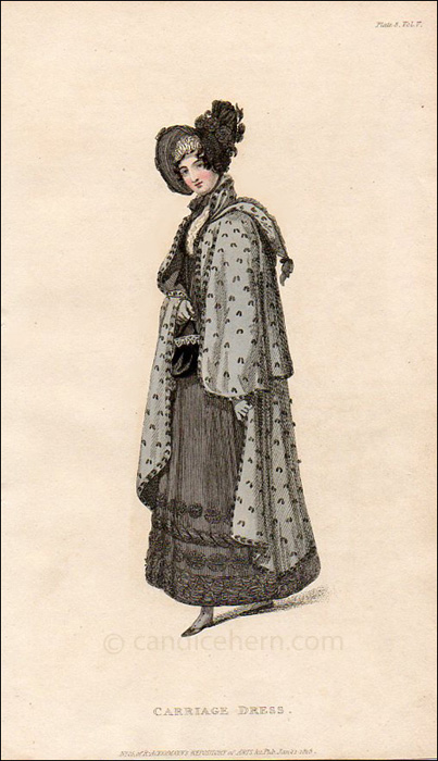 Carriage Dress, January 1818
