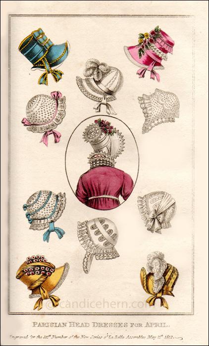 Hats, April 1812