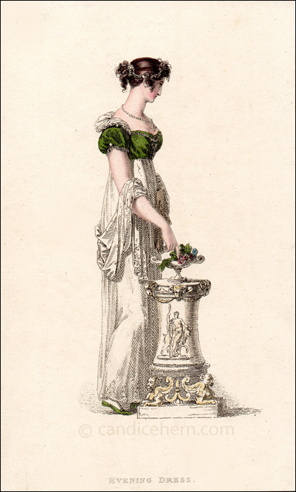 Evening Dress March 1814