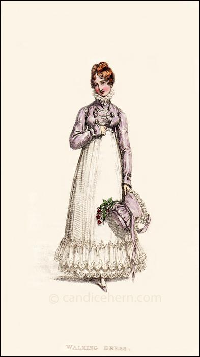Walking Dress April 1817