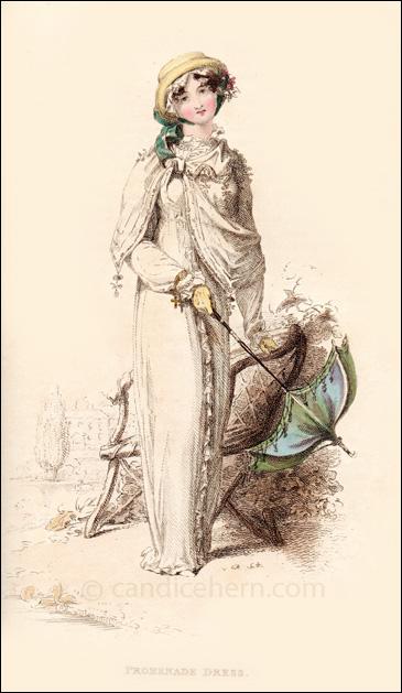Promenade Dress August 1812