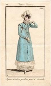 Costume Parisien, 1816.