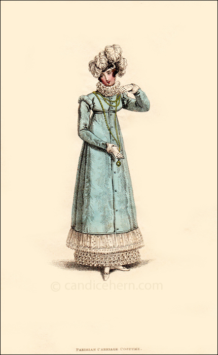 Carriage Dress March 1817