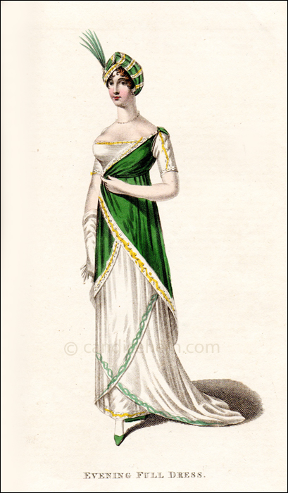 Evening Full Dress May 1811