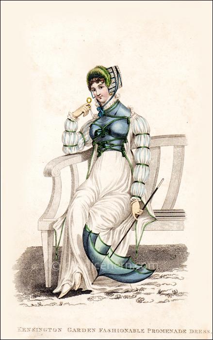 Promenade Dress July 1811