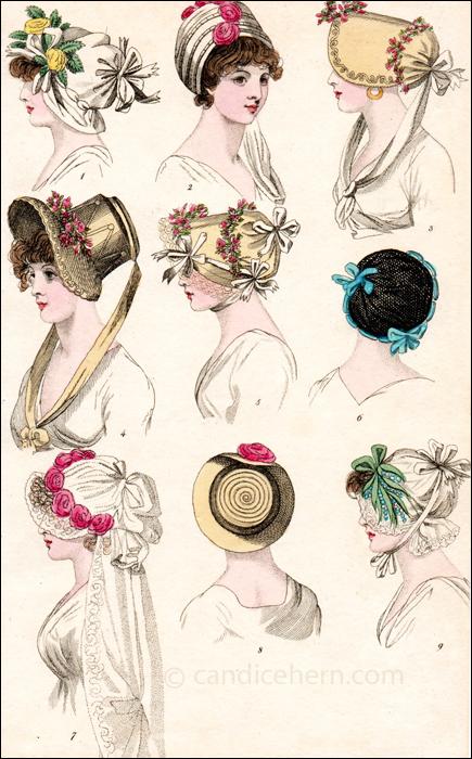 Hats May 1800