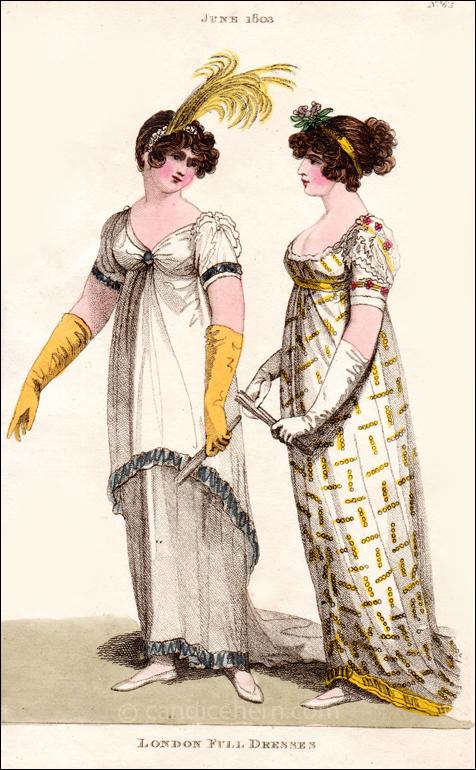 Full Dresses June 1803