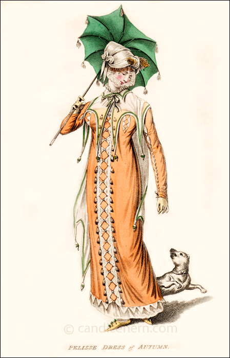 Walking Dress October 1810