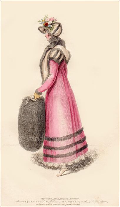 Carriage Dress November 1814