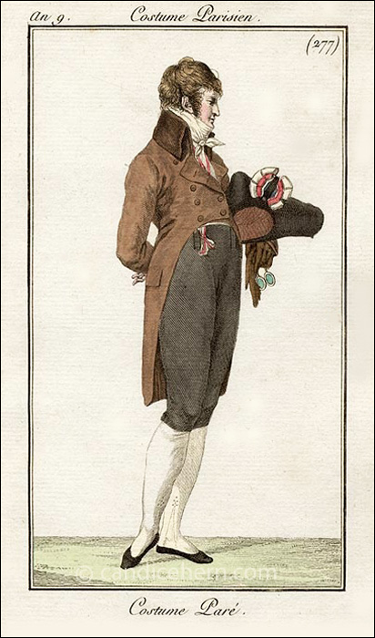 Franch Gentleman's Full Dress February 1801