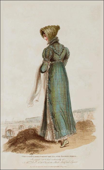 Sea-Side Bathing Dress, August 1814
