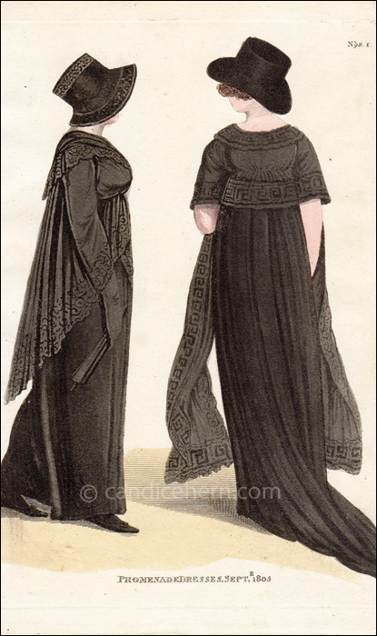 Mourning Dresses September 1805
