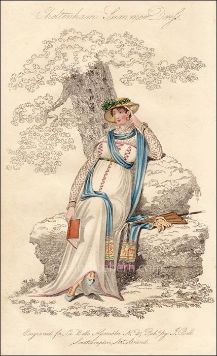 Walking Dress, September 1809