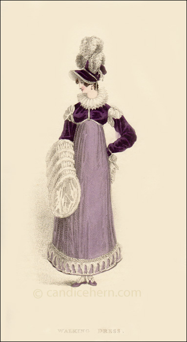 Walking Dress February 1816