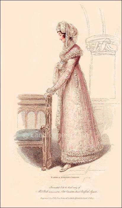 Evening Dress September 1814