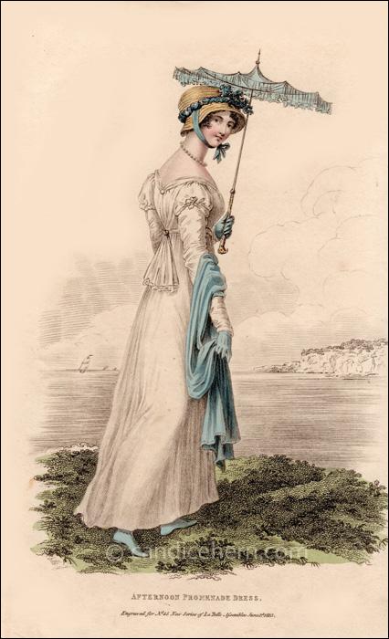 Promenade Dress June 1813