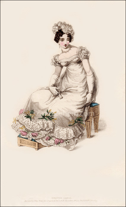 Evening Dress October 1819