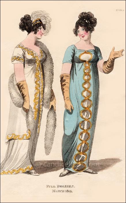 Full Dresses March 1805