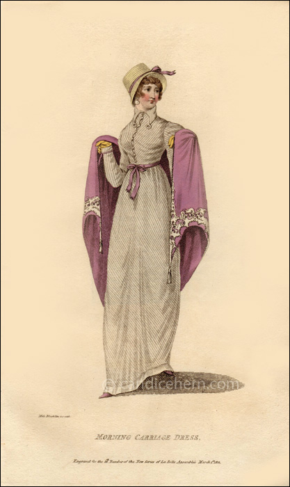 Carriage Dress March 1811