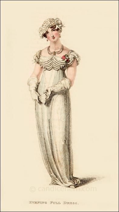 Evening Dress March 1812