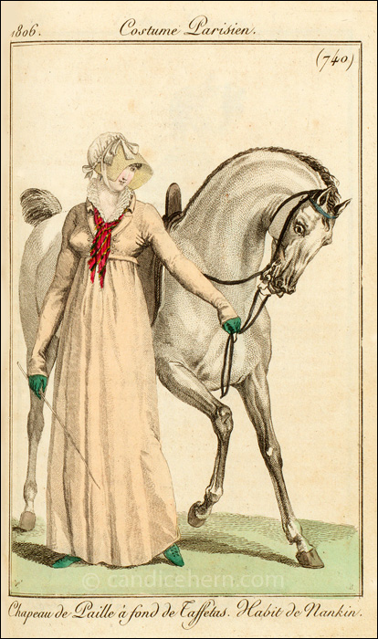 Riding Habit July 1806
