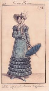 Costume Parisien 1818-1744