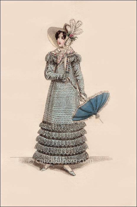 Walking Dress September 1818