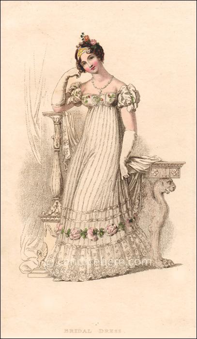 Bridal Dress June 1816