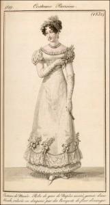 French Bridal Dress July 1819