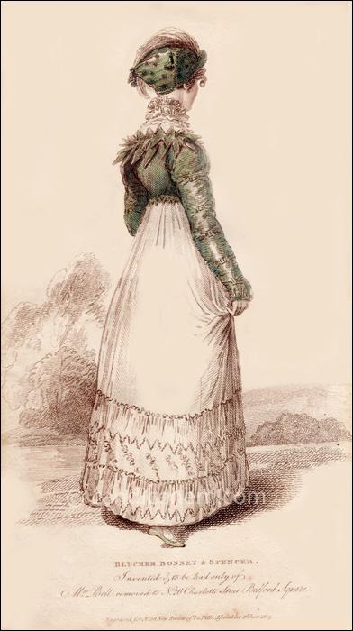 Walking Dress June 1814