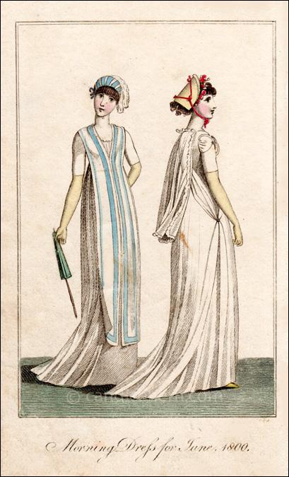 Morning Dresses June 1800