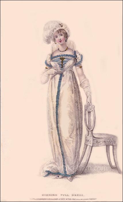 Evening Full Dress January 1809