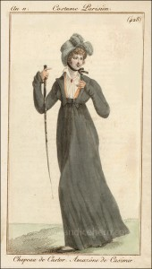 French Riding Habit November 1802