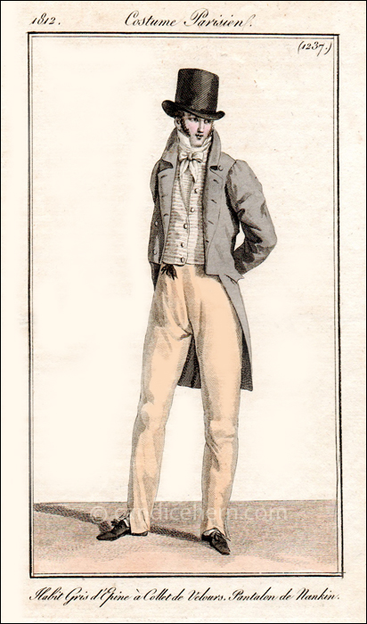 Gentleman's Afternoon Wear June 1812