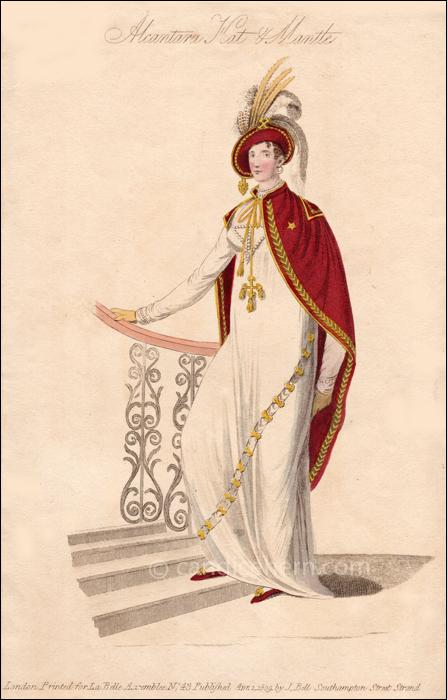 Evening Half Dress April 1809