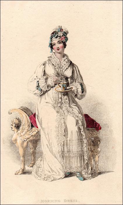 Morning Dress May 1816