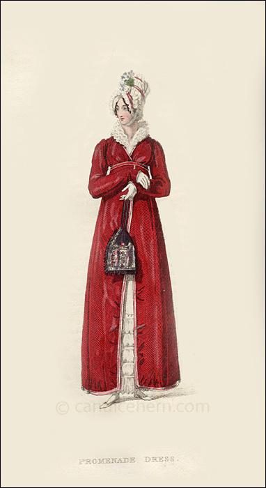 Promenade Dress December 1816