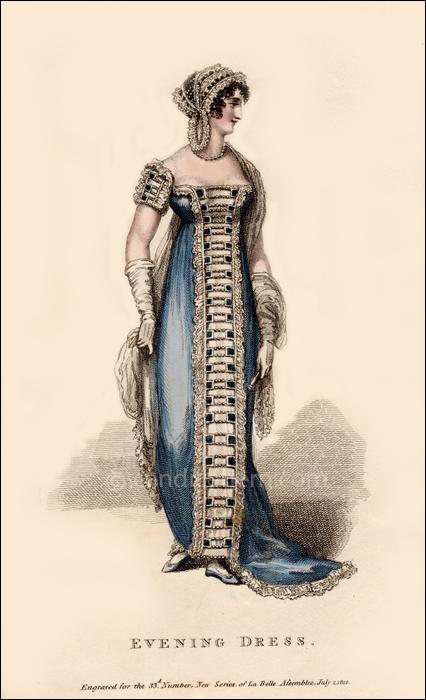 Gala Evening Dress July 1812